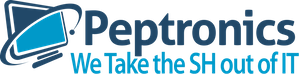 Peptronics Mobile Logo